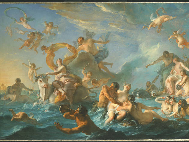 "Noel-Nicolas Coypel, ""The Abduction of Europa,"" 1727."