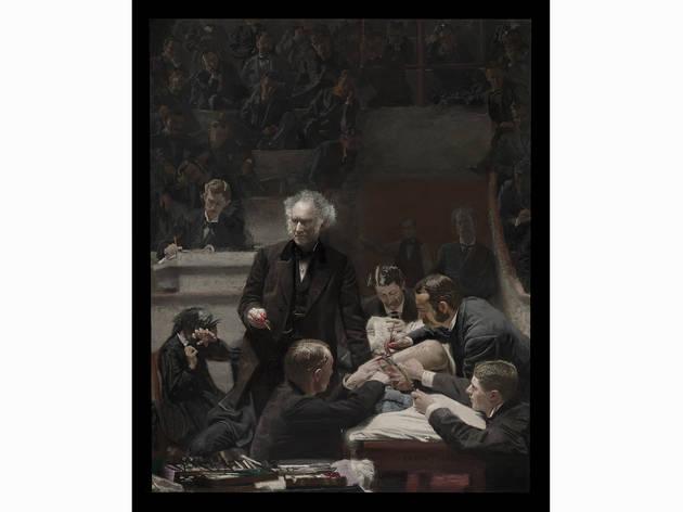 "Thomas Eakins, ""Portrait of Dr. Samuel D. Gross (The Gross Clini"