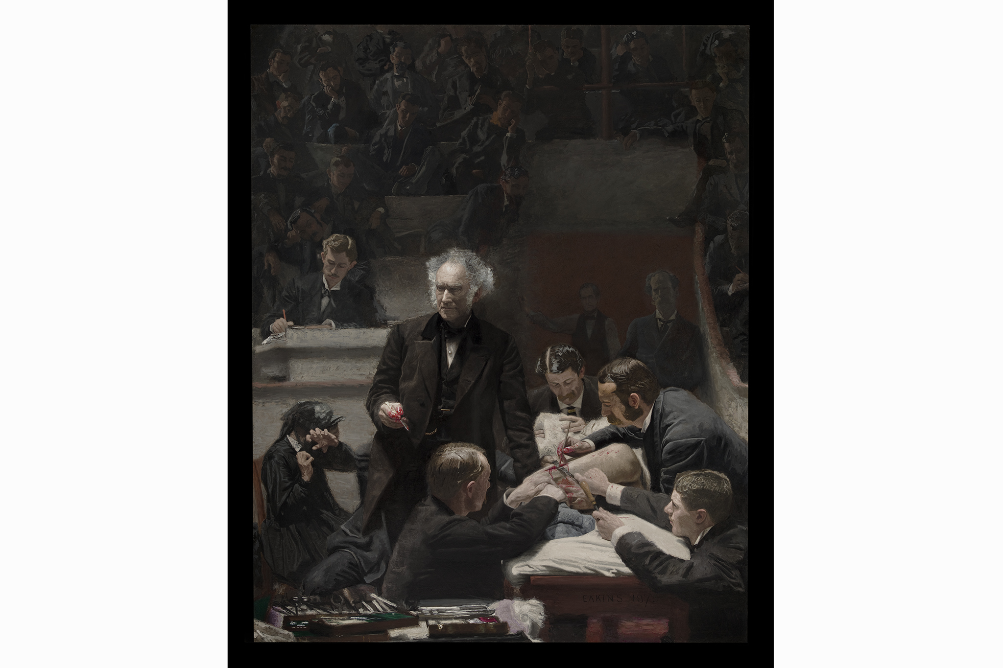 "Thomas Eakins, ""Portrait of Dr. Samuel D. Gross (The Gross Clinic),"" 1875"