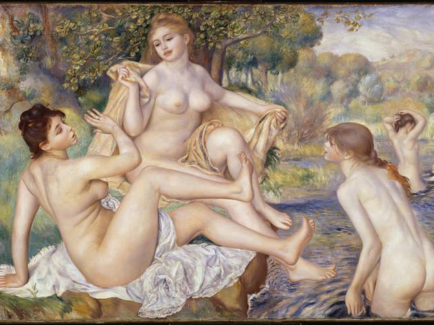 "Pierre-Auguste Renoir, ""The Large Bathers,"" 1884-87"