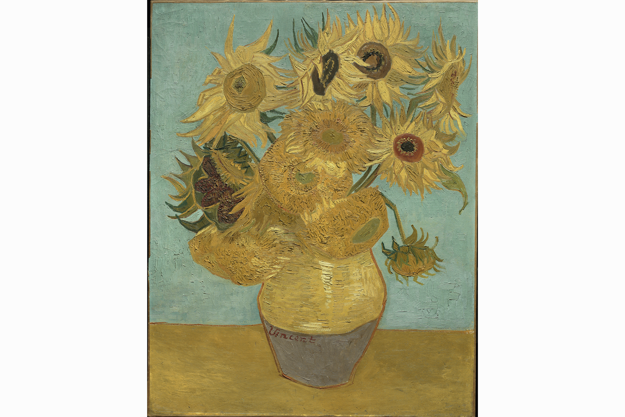 "Vincent Van Gogh, ""Sunflowers,"" 1888 or 1889."