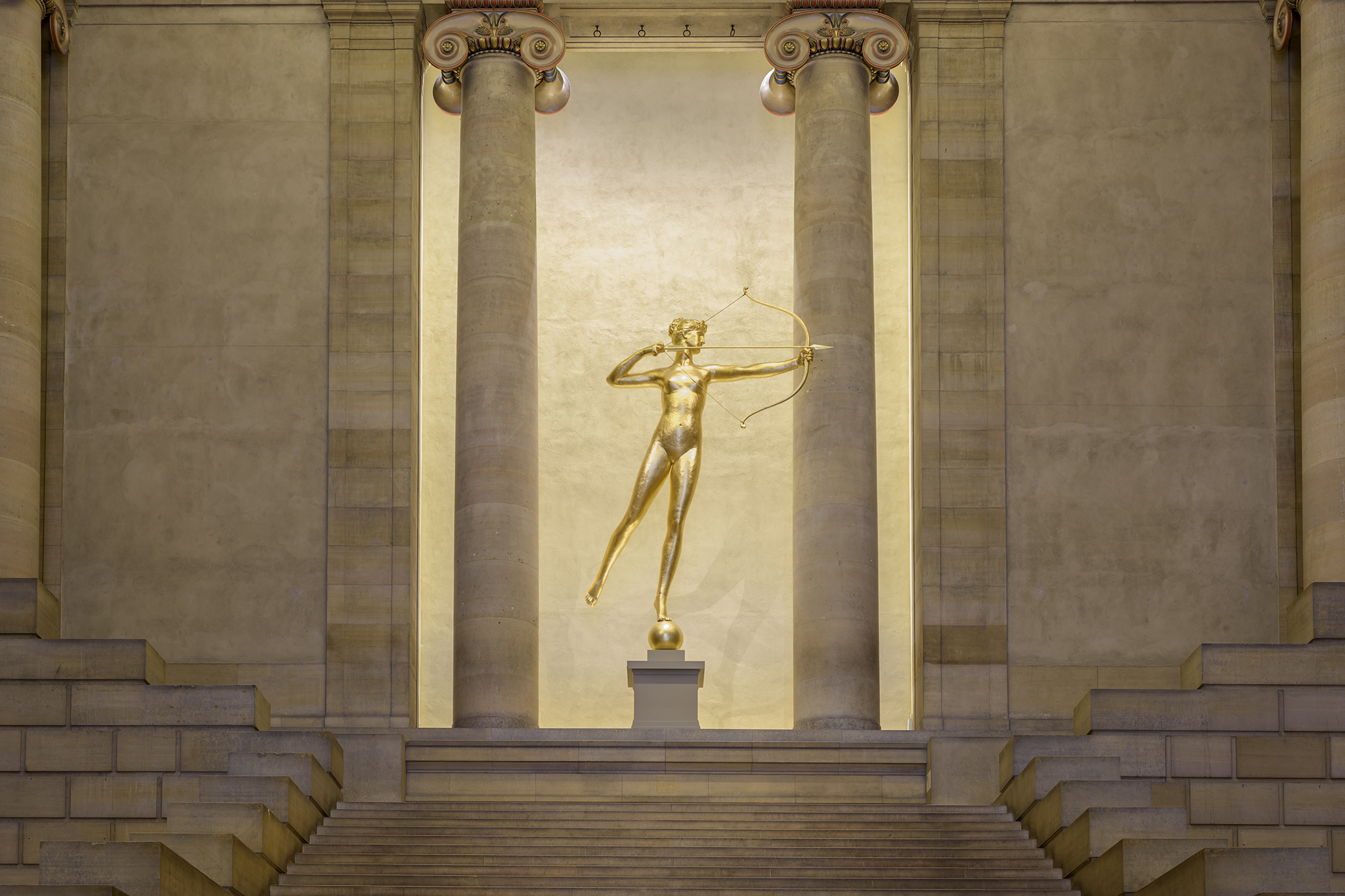"Augustus Saint-Gaudens, ""Diana,"" 1892-93."