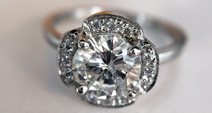 Where to buy diamond, custom and vintage engagement rings in LA