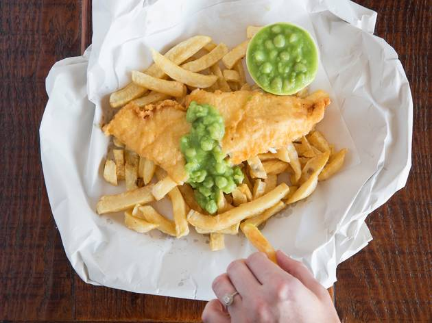 The best fish and chips in Sydney