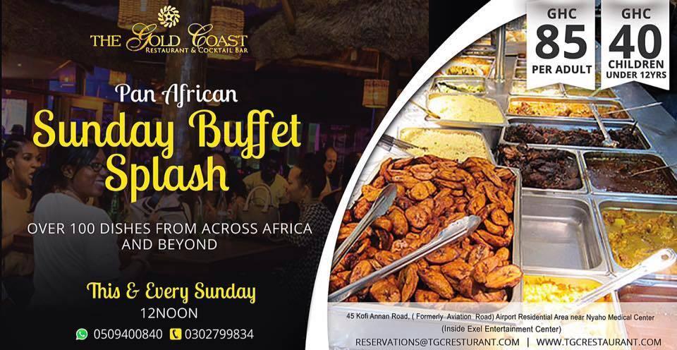 Sunday Buffet Splash