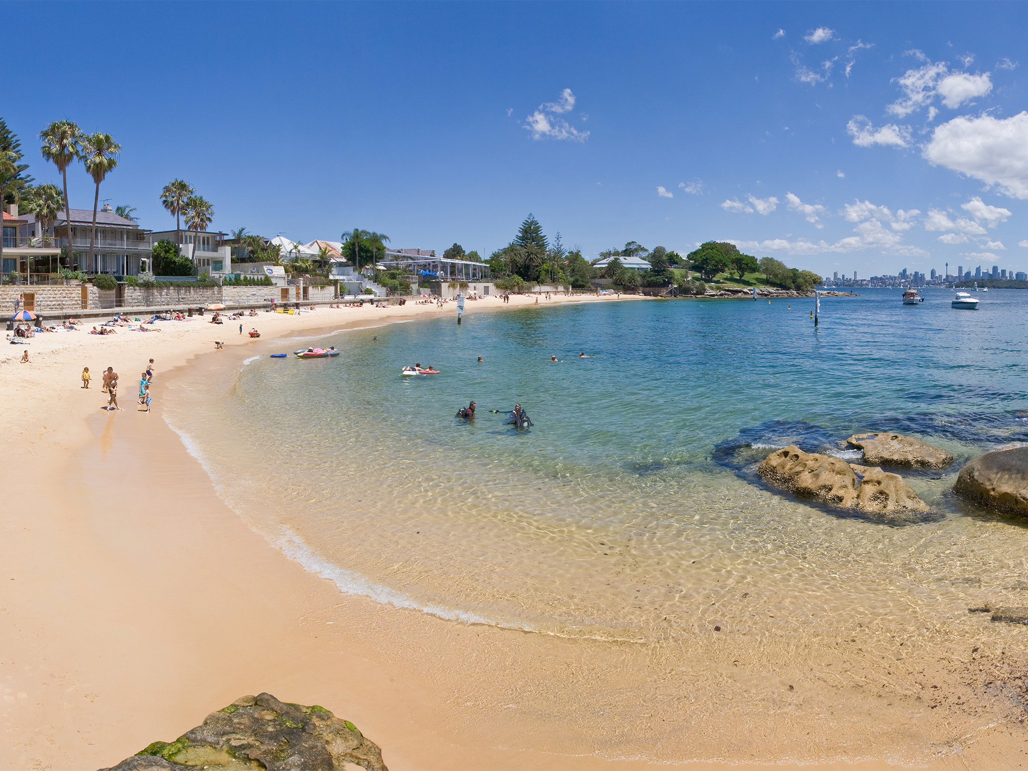 The best harbour beaches in Sydney