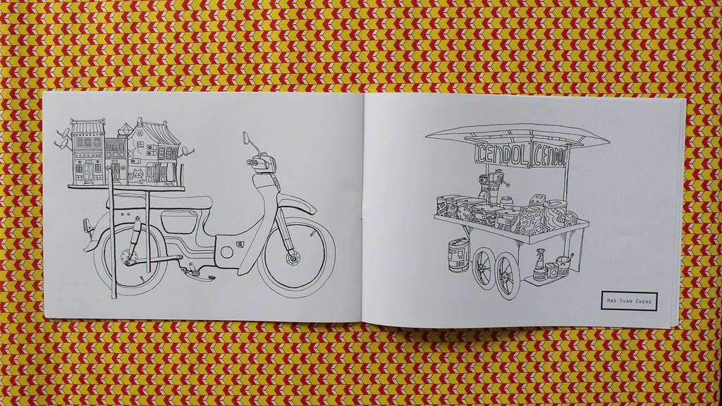 penang colouring book