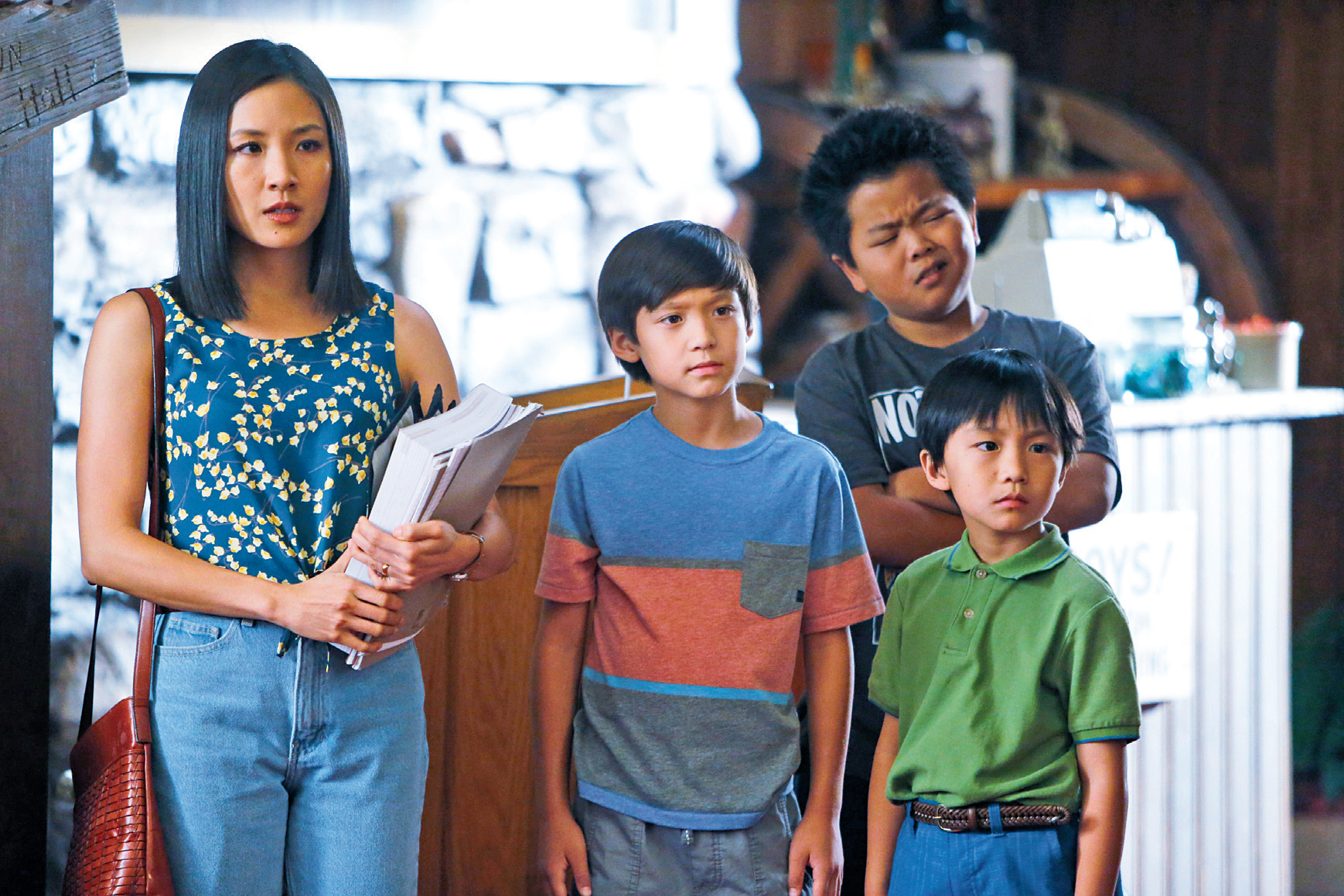 Minority report: Asian life sitcoms on TV