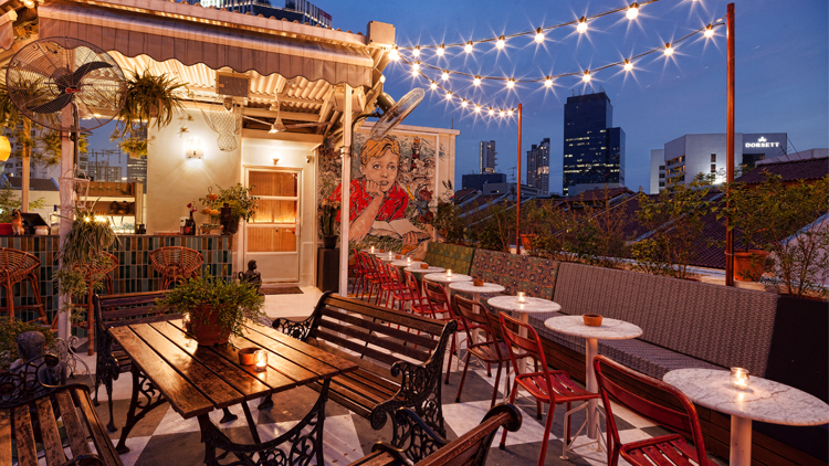 The most romantic restaurants in Singapore