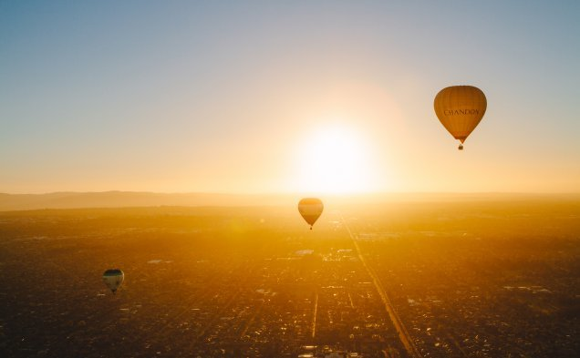 Global Ballooning hot air balloon flights