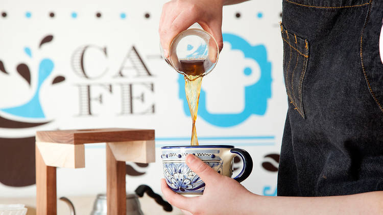 Specialty coffee bars in Mexico City