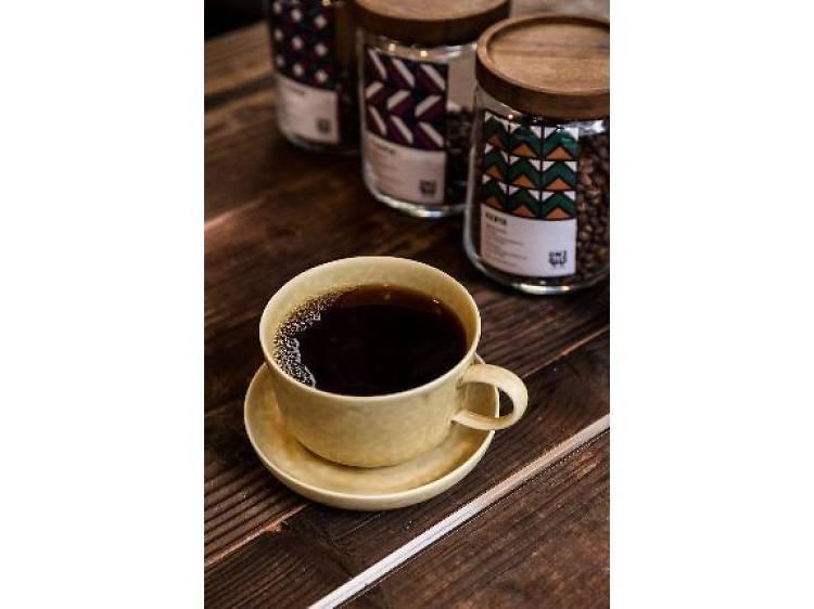 コーヒーは古民家で嗜む。