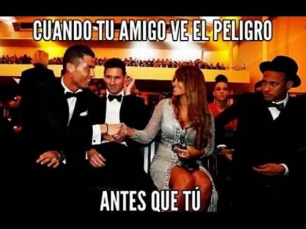 Meme messi Cristiano Ronaldo