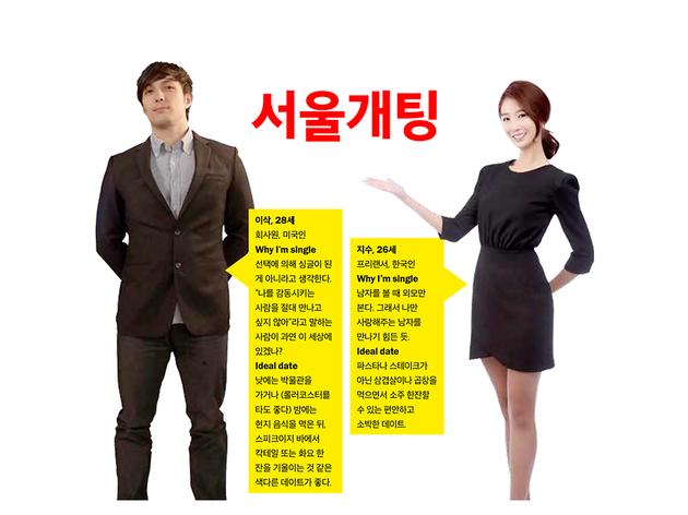서울개팅: 이삭 and 지수