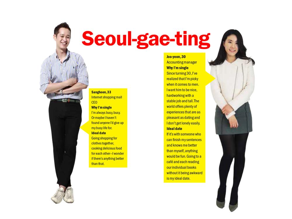 Seoul-gae-ting: Sanghoon and Joo-yeon