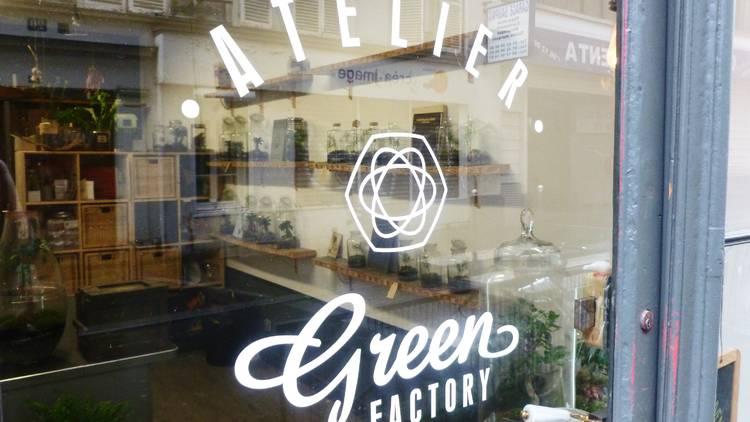 Green Factory devanture