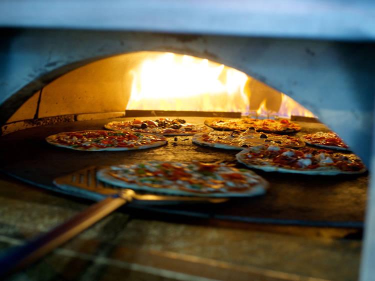 Les pizzas à Paris