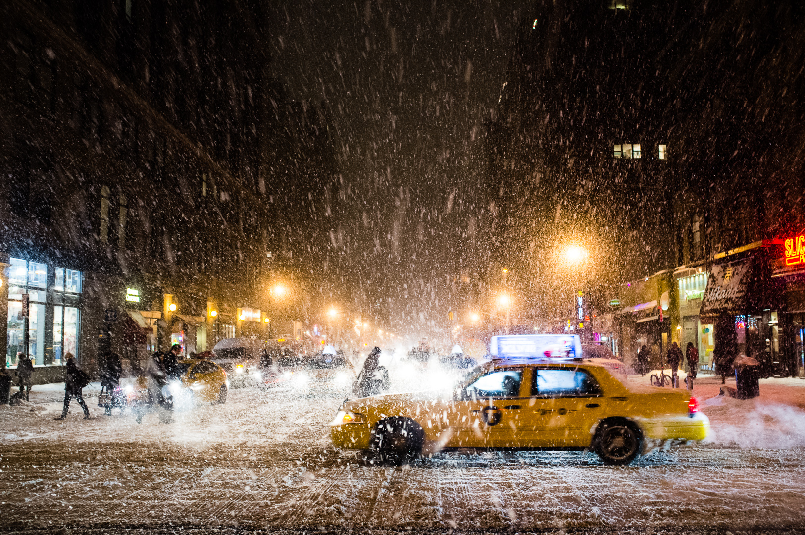 NYC's first major snowstorm of the season is on its way!