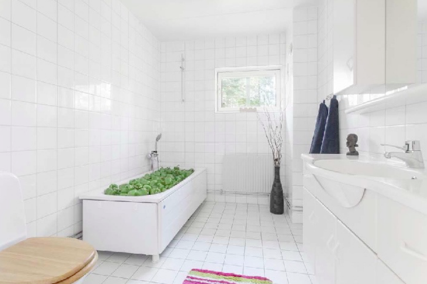 lavabo amb pebrots