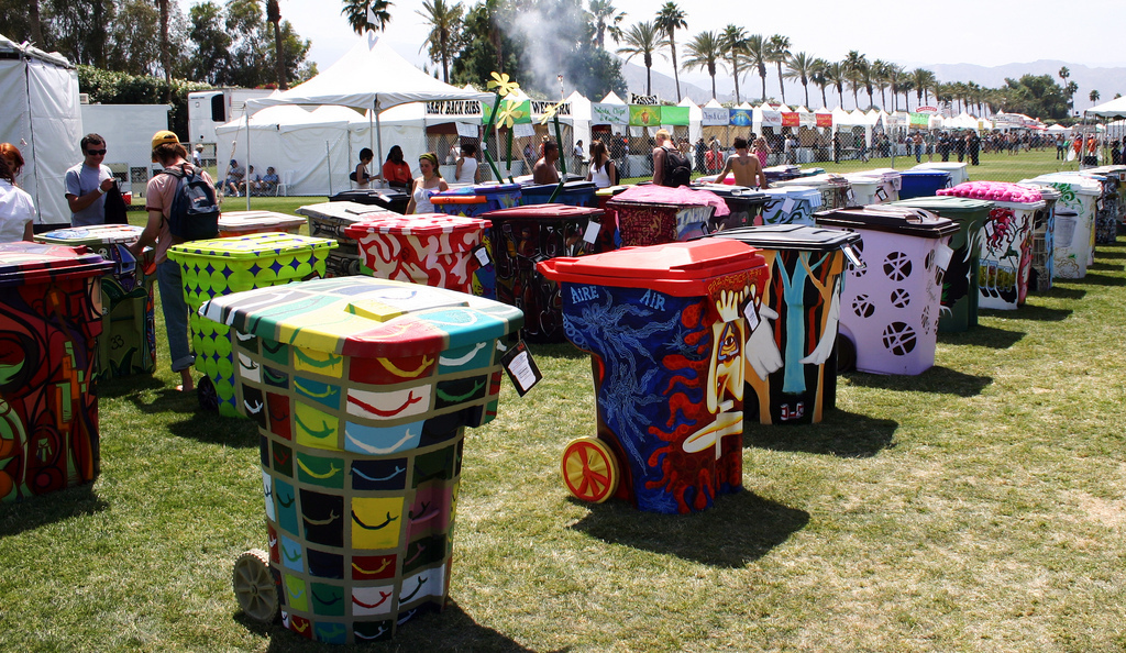 Coachella is calling for artists to submit designs for TRASHed Art of Recycling program