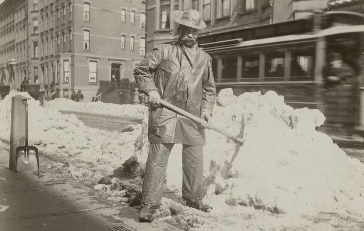 10 fascinating vintage photos of New York in the snow