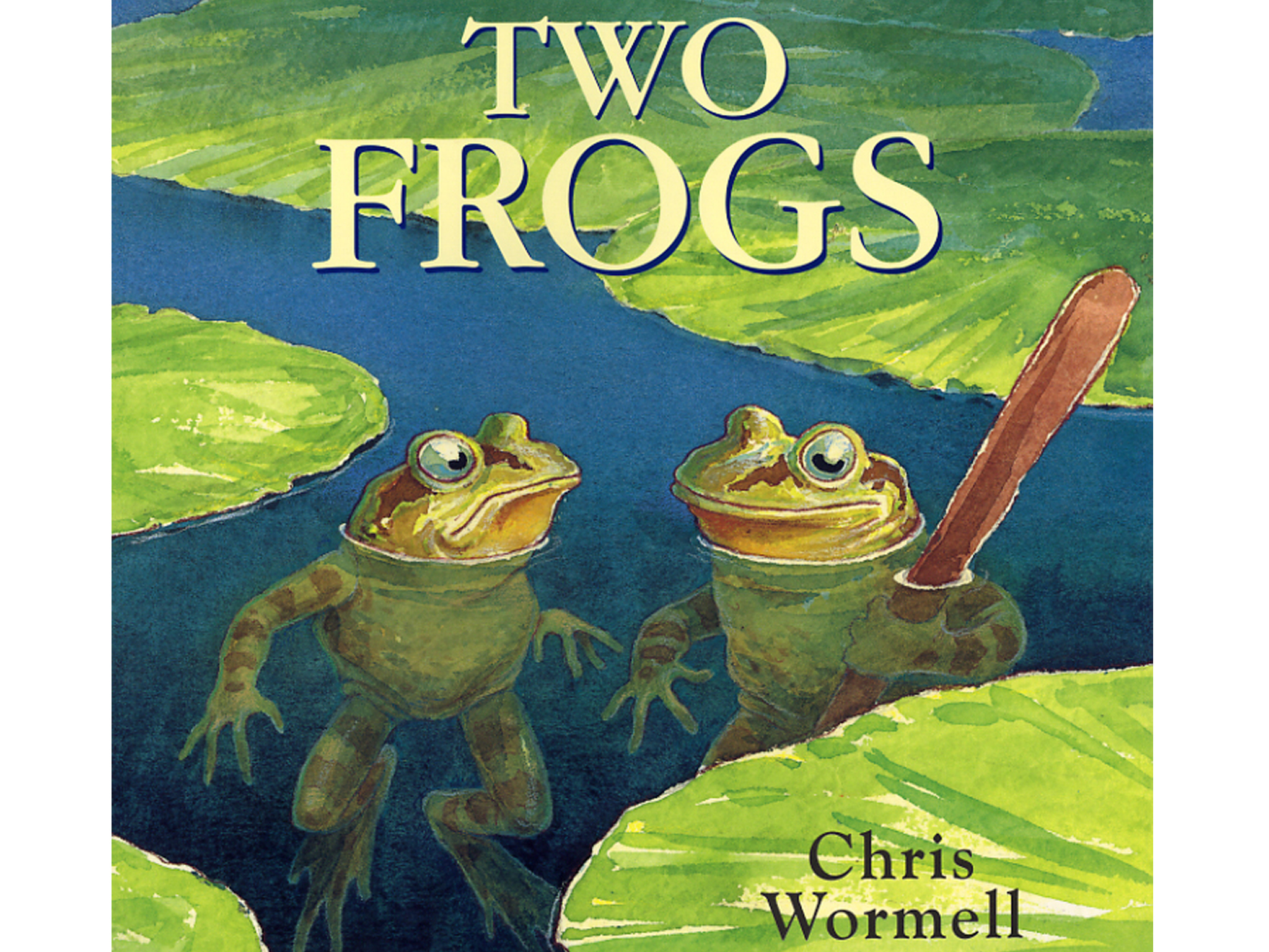 100 best children's books: Two Frogs
