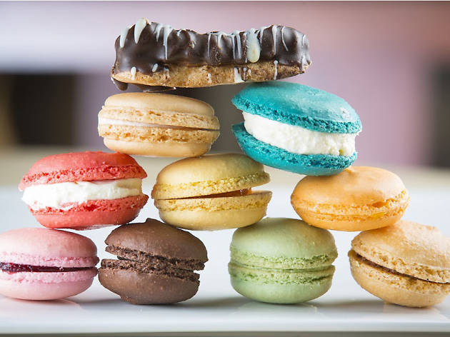 Macarons at Delightful Pastries.