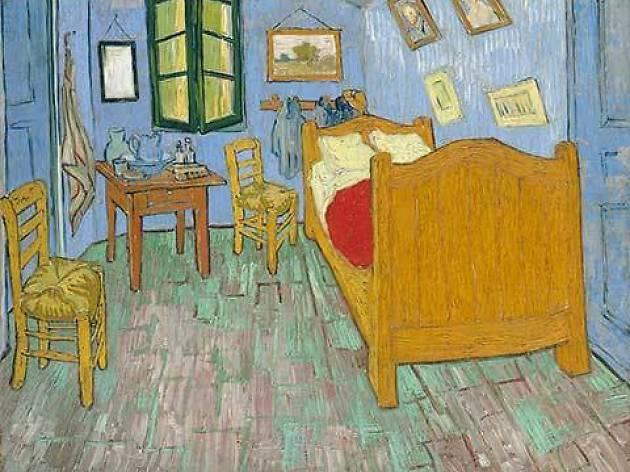 "Vincent van Gogh. ""The Bedroom"", 1889"