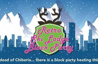 Retro Ski Lodge Block Party