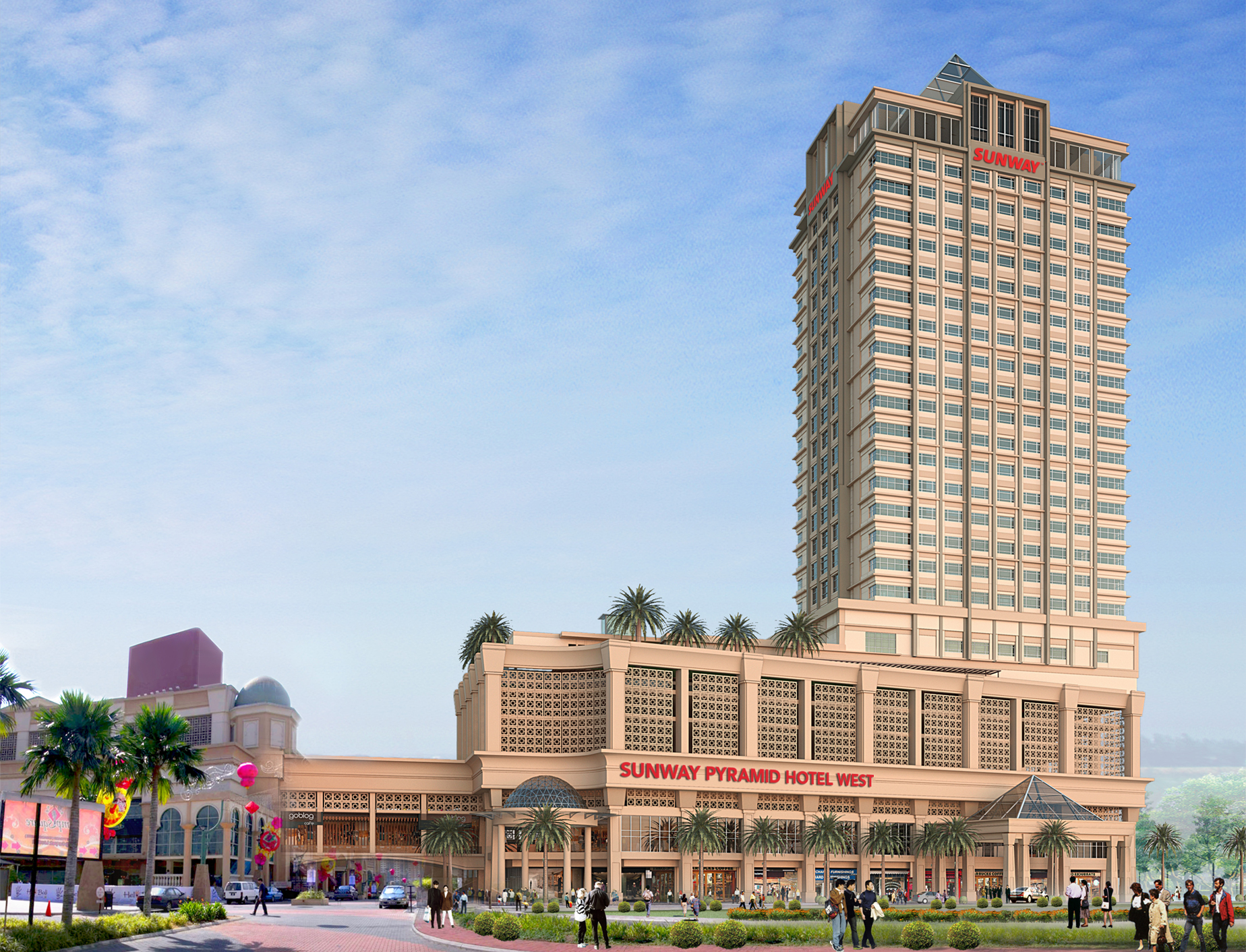 Sunway clio hotel hotels in sunway selangor for Sunway pyramid hotel swimming pool