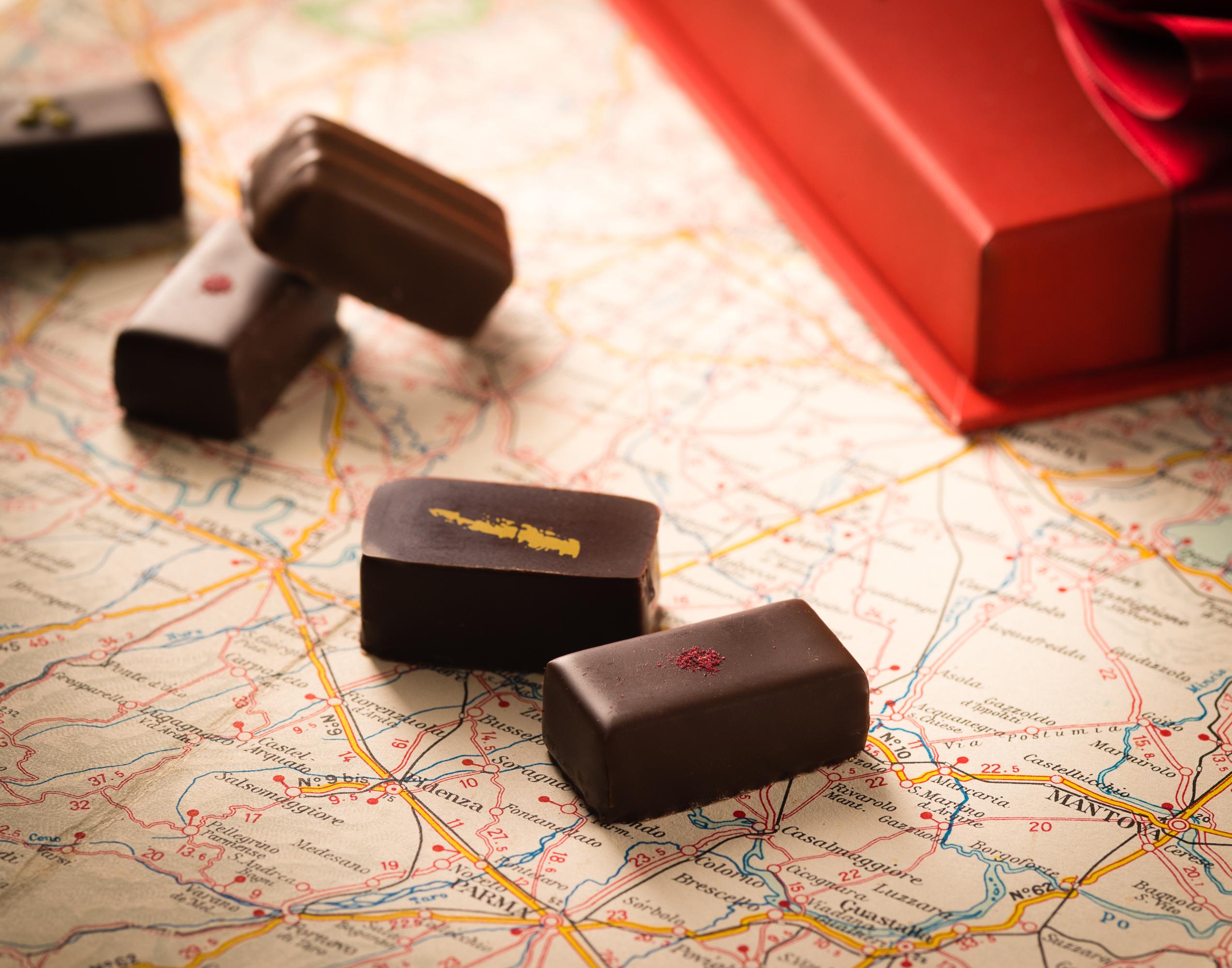チョコレートを買いに行く。