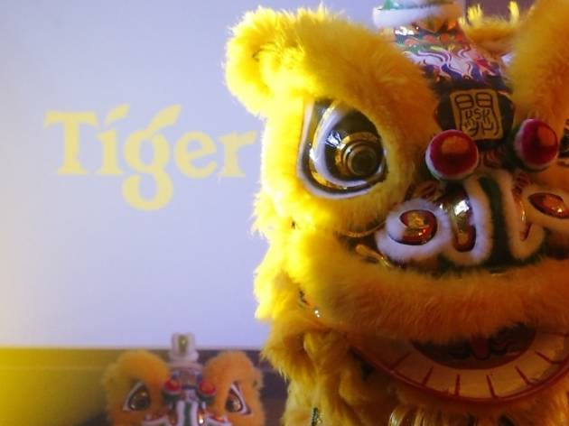 Tiger Beer Chinese New Year lion dance performances