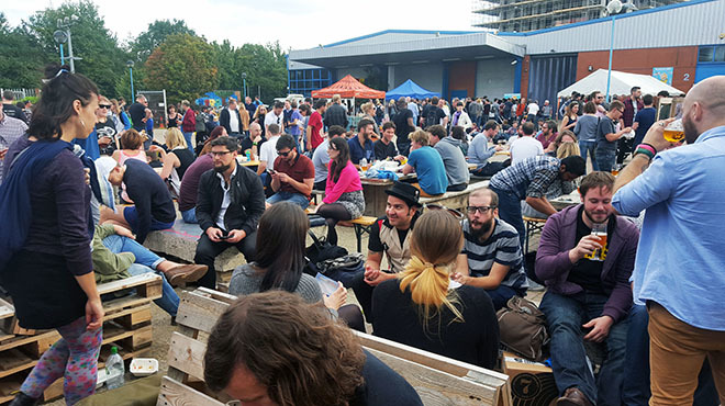 Beavertown brewery is having a birthday party and you're invited