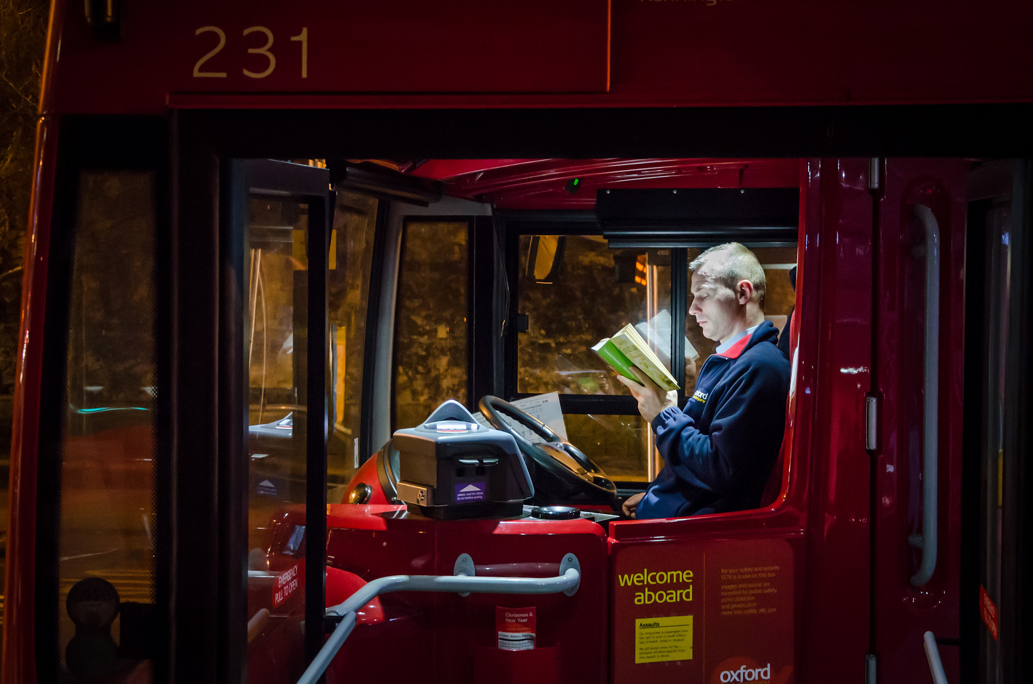 Eight types of people you'll find on the night bus