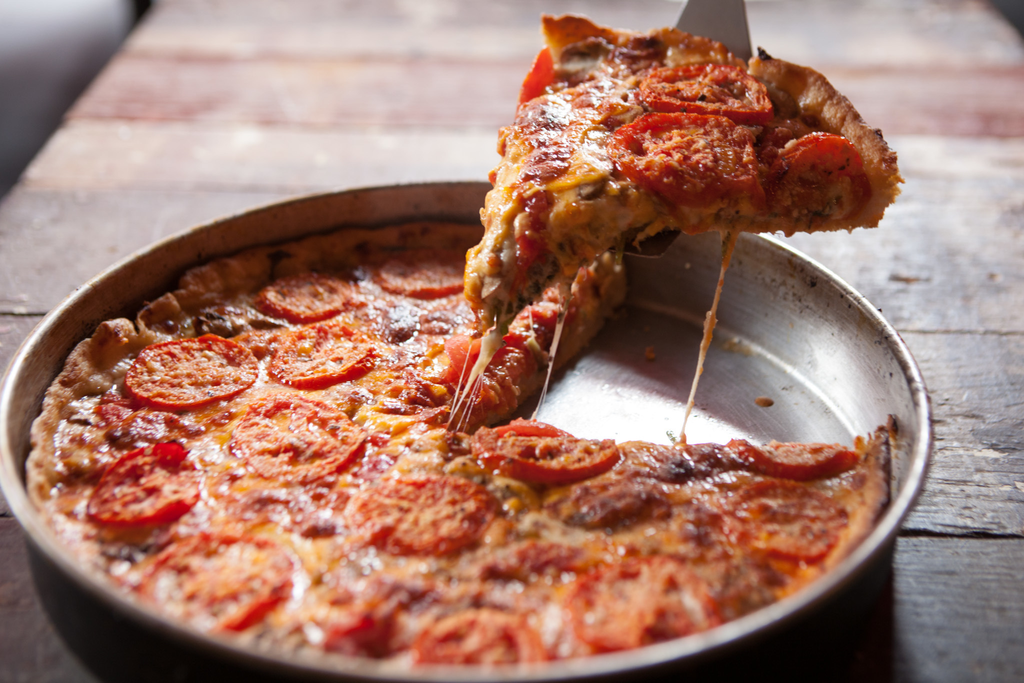 The best deep dish pizza in Chicago