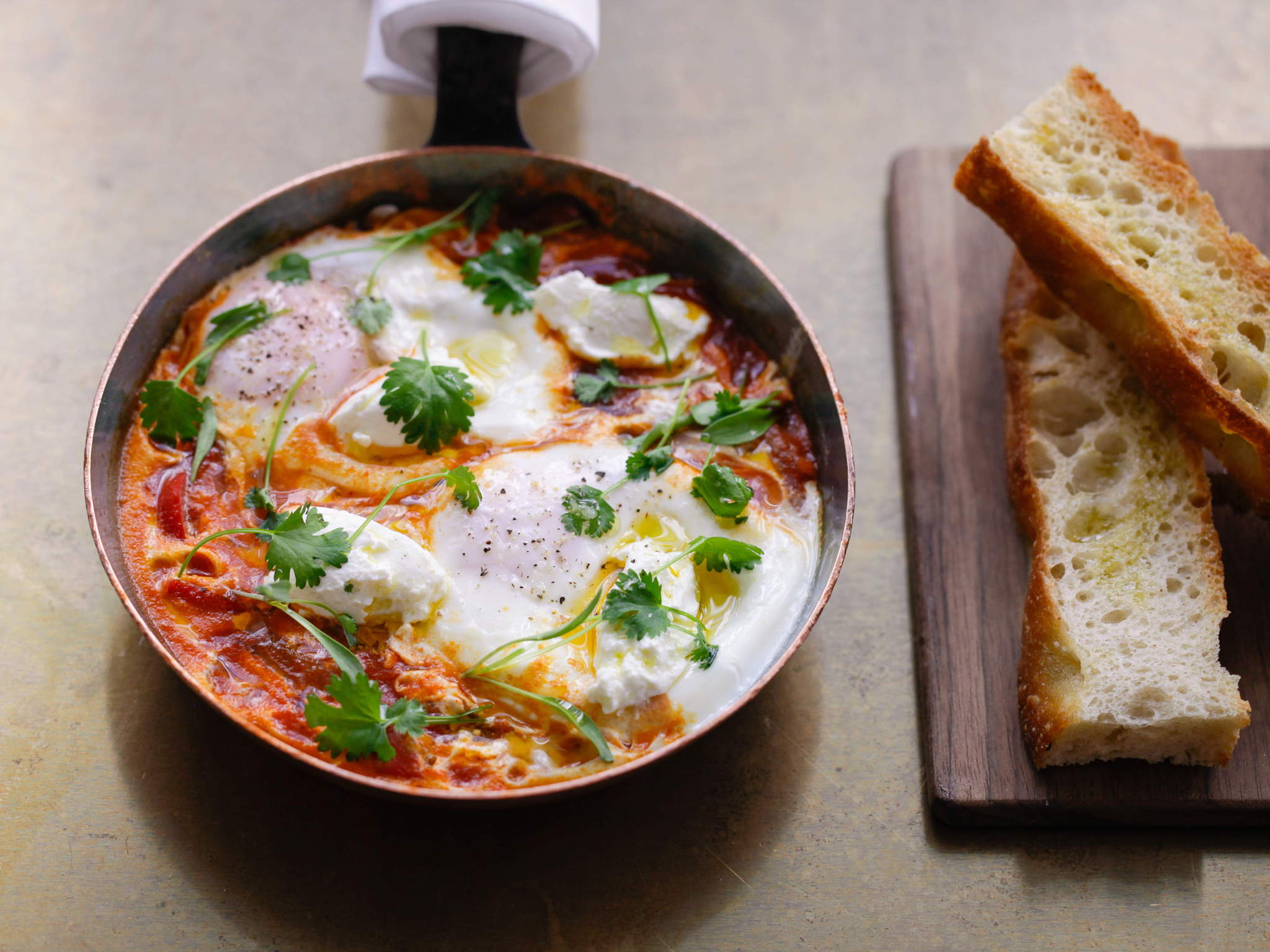 Egg dishes in London, Shakshuka at Nopi