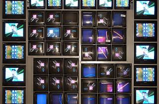 Nam June Paik, 'Internet Dream', 1994. © (2008) ZKM Center for Art and Media Karlsruhe, Photo: ONUK (Berhard Schmitt) © Nam June Paik Estate