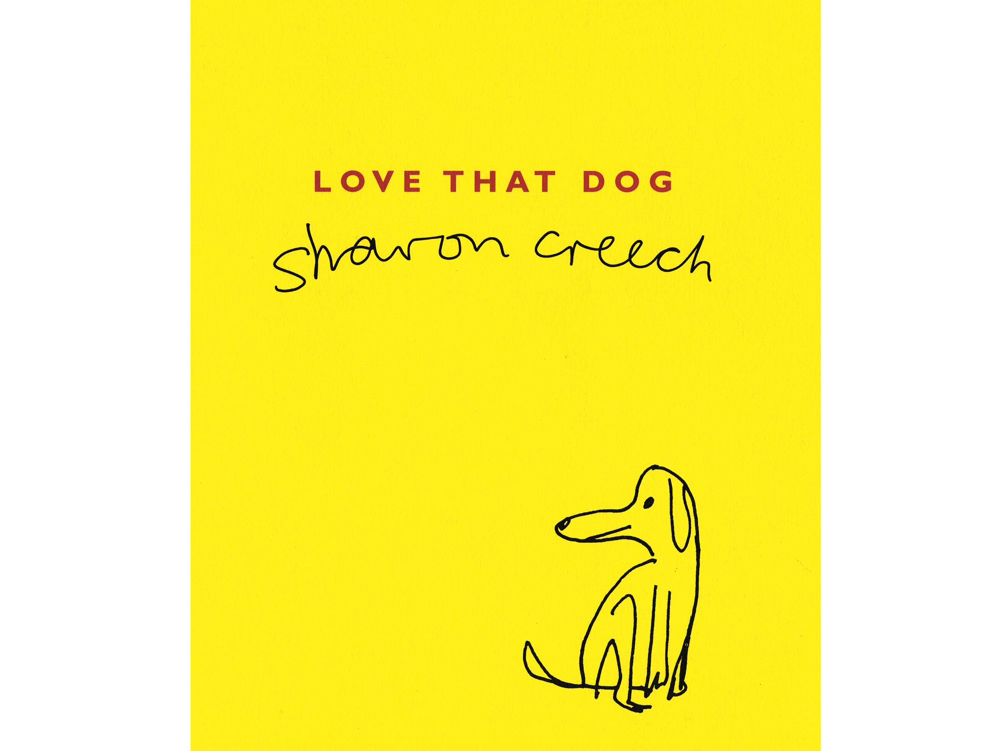 100 best children's books: Love that Dog