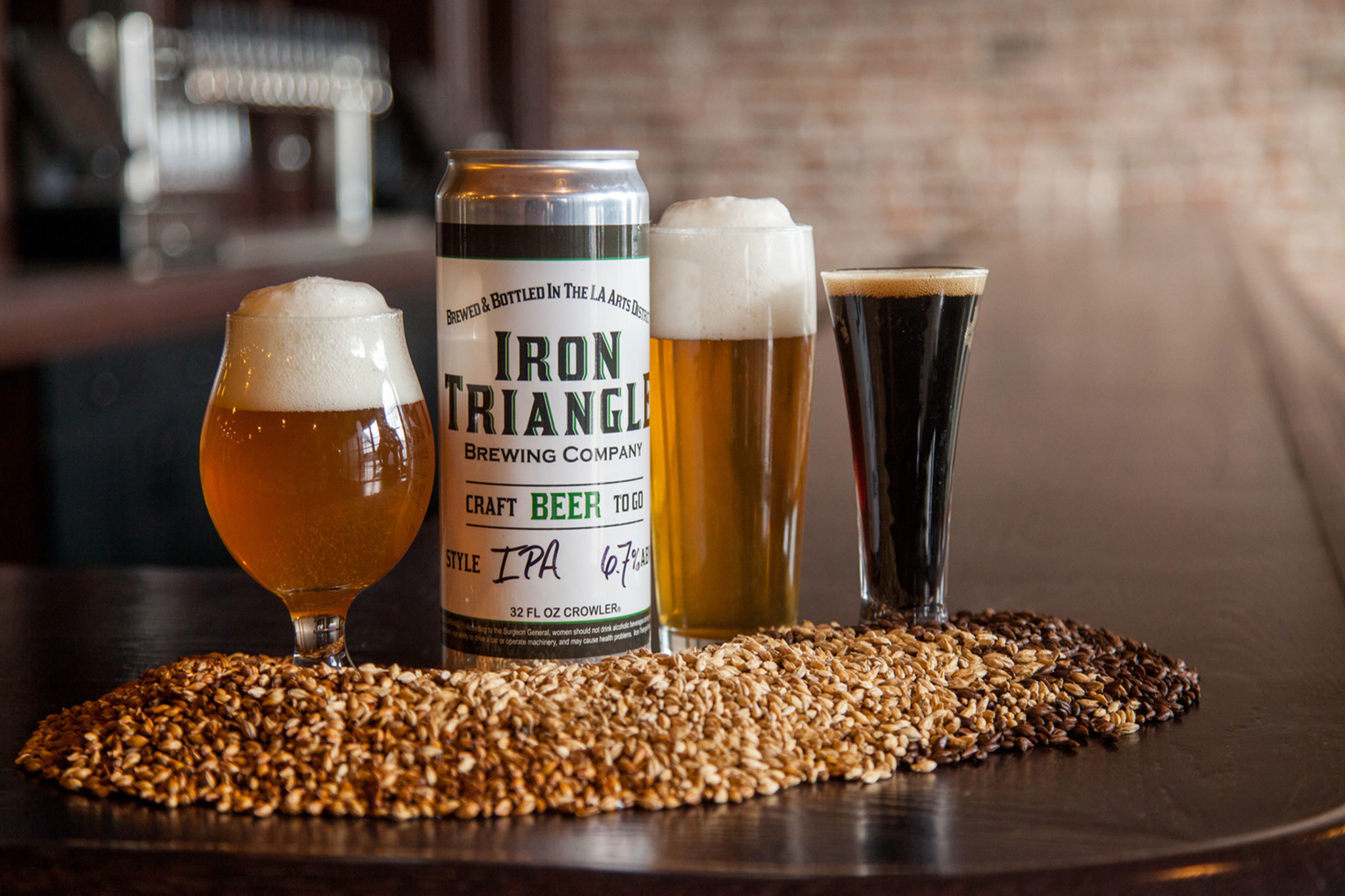 Iron Triangle Brewing is now pouring in the Arts District