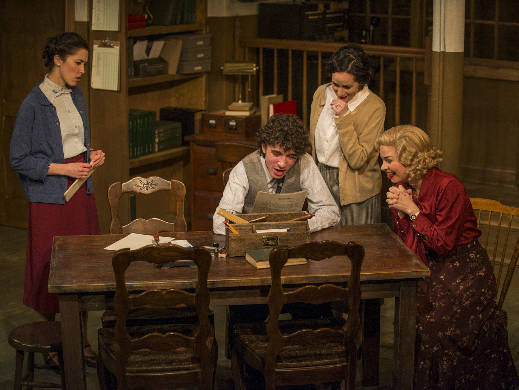 London Wall at Griffin Theatre Company