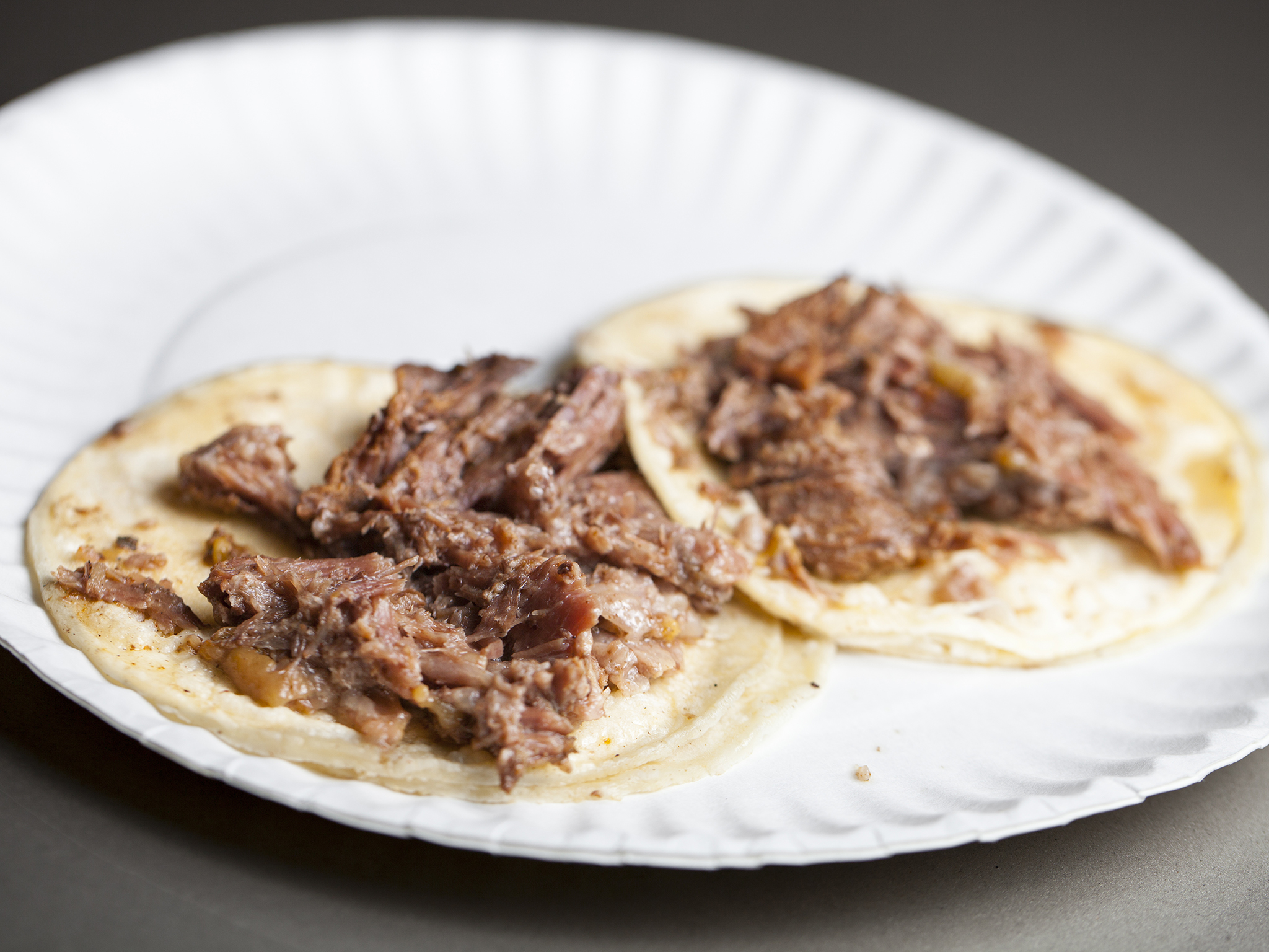 Birria tacos at Chiquis Tacos