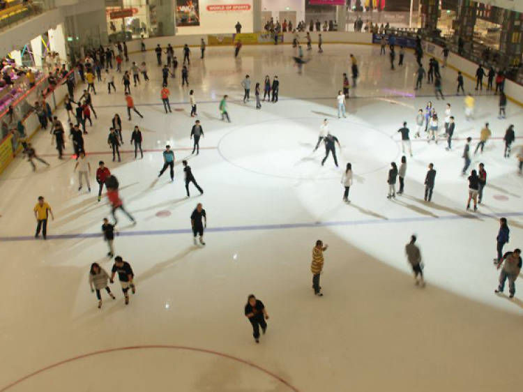Ice skate at The Rink