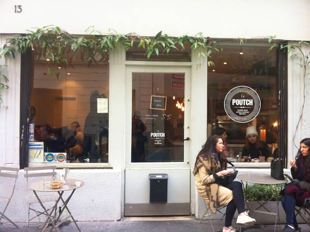 le poutch restaurants in canal saint martin paris. Black Bedroom Furniture Sets. Home Design Ideas