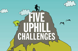 Five uphill challenges