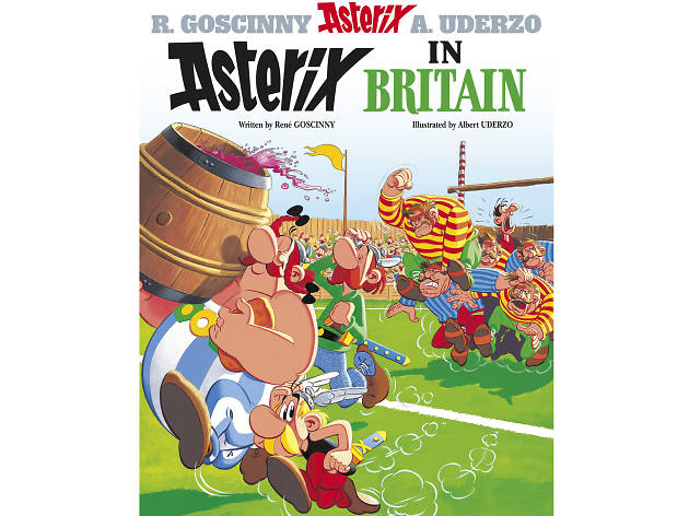 100 best children's books: Asterix in Britain
