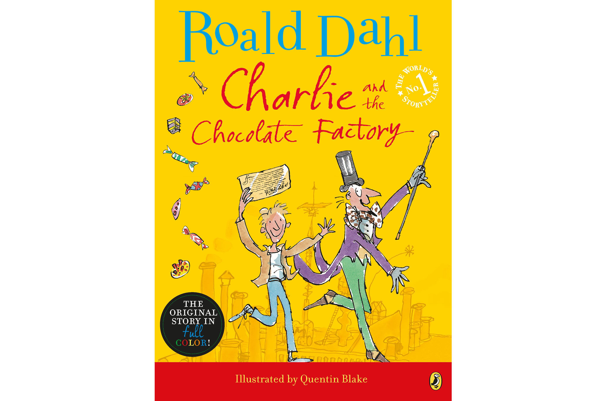 100 best children's books: Charlie and the Chocolate Factory