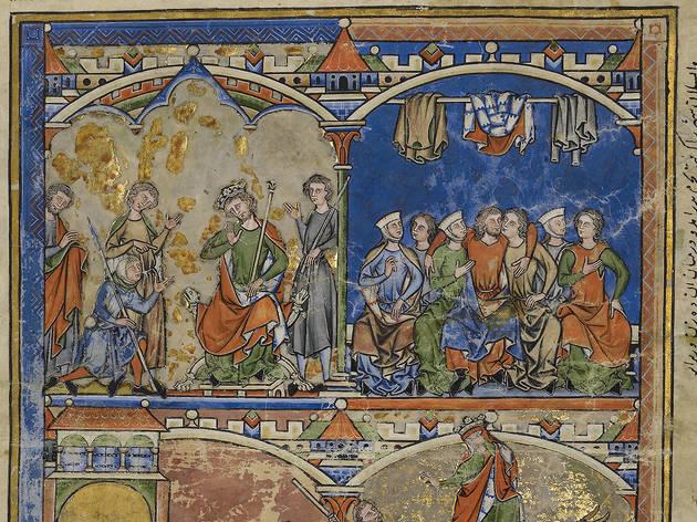 Traversing the Globe through Illuminated Manuscripts