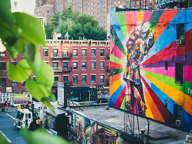 Eduardo Kobra, V-J Day Mural,West 25th Street at 10th Avenue