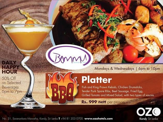 BBQ Platter at Bommu Restaurant