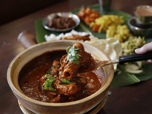 Aunty Manju's bone marrow curry